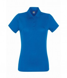 Image 5 of Fruit of the Loom Lady Fit Performance Polo Shirt
