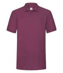 Image 10 of Fruit of the Loom Heavy Poly/Cotton Piqué Polo Shirt