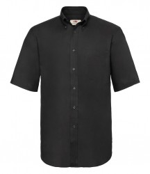 Image 2 of Fruit of the Loom Short Sleeve Oxford Shirt