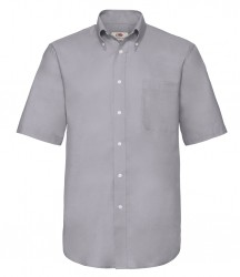 Image 3 of Fruit of the Loom Short Sleeve Oxford Shirt