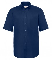 Image 4 of Fruit of the Loom Short Sleeve Oxford Shirt