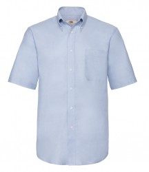 Image 5 of Fruit of the Loom Short Sleeve Oxford Shirt