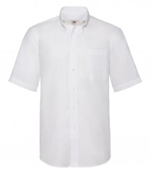 Image 6 of Fruit of the Loom Short Sleeve Oxford Shirt