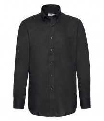 Image 5 of Fruit of the Loom Long Sleeve Oxford Shirt