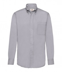 Image 6 of Fruit of the Loom Long Sleeve Oxford Shirt