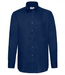 Image 2 of Fruit of the Loom Long Sleeve Oxford Shirt