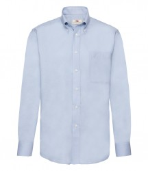 Image 3 of Fruit of the Loom Long Sleeve Oxford Shirt
