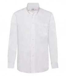 Image 4 of Fruit of the Loom Long Sleeve Oxford Shirt