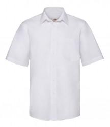 Image 6 of Fruit of the Loom Short Sleeve Poplin Shirt