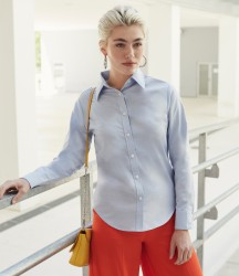 Fruit of the Loom Lady Fit Long Sleeve Oxford Shirt image