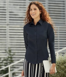 Fruit of the Loom Lady Fit Long Sleeve Poplin Shirt image