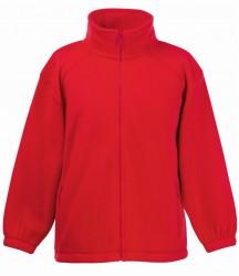 Image 5 of Fruit of the Loom Kids Fleece Jacket