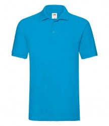 Image 18 of Fruit of the Loom Premium Cotton Piqué Polo Shirt