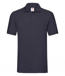 Image 4 of Fruit of the Loom Premium Cotton Piqué Polo Shirt