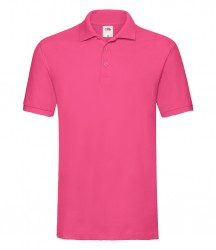 Image 6 of Fruit of the Loom Premium Cotton Piqué Polo Shirt