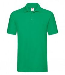 Image 8 of Fruit of the Loom Premium Cotton Piqué Polo Shirt