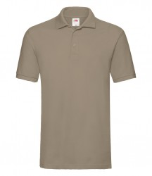 Image 9 of Fruit of the Loom Premium Cotton Piqué Polo Shirt