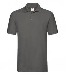 Image 10 of Fruit of the Loom Premium Cotton Piqué Polo Shirt