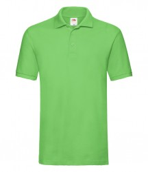 Image 11 of Fruit of the Loom Premium Cotton Piqué Polo Shirt