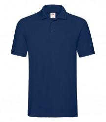 Image 13 of Fruit of the Loom Premium Cotton Piqué Polo Shirt