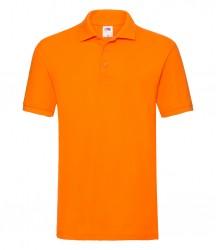Image 15 of Fruit of the Loom Premium Cotton Piqué Polo Shirt