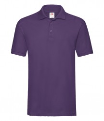 Image 16 of Fruit of the Loom Premium Cotton Piqué Polo Shirt