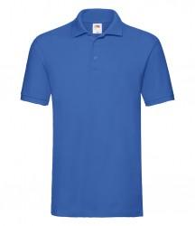 Image 21 of Fruit of the Loom Premium Cotton Piqué Polo Shirt
