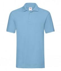 Image 22 of Fruit of the Loom Premium Cotton Piqué Polo Shirt