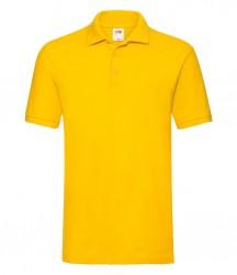 Image 23 of Fruit of the Loom Premium Cotton Piqué Polo Shirt