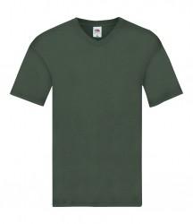 Image 7 of Fruit of the Loom Original V Neck T-Shirt