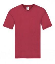 Image 5 of Fruit of the Loom Original V Neck T-Shirt