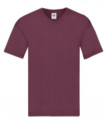 Image 6 of Fruit of the Loom Original V Neck T-Shirt