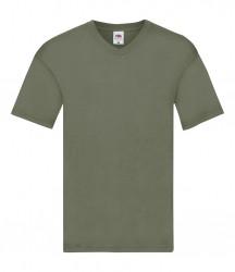 Image 4 of Fruit of the Loom Original V Neck T-Shirt