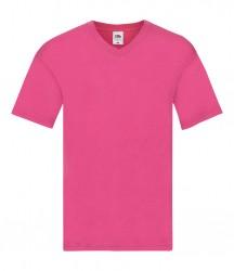 Image 2 of Fruit of the Loom Original V Neck T-Shirt