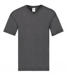 Image 17 of Fruit of the Loom Original V Neck T-Shirt