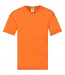 Image 11 of Fruit of the Loom Original V Neck T-Shirt