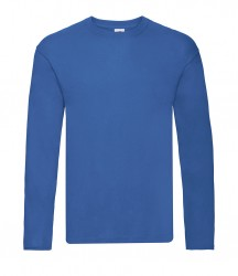 Image 5 of Fruit of the Loom Original Long Sleeve T-Shirt