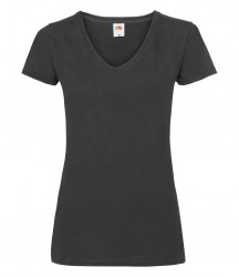 Fruit of the Loom Lady Fit Value V Neck T-Shirt image