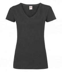 Fruit of the Loom Lady Fit Value V Neck T-Shirt image