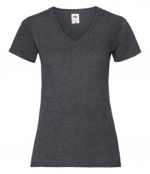 Image 3 of Fruit of the Loom Lady Fit Value V Neck T-Shirt