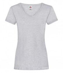 Image 5 of Fruit of the Loom Lady Fit Value V Neck T-Shirt