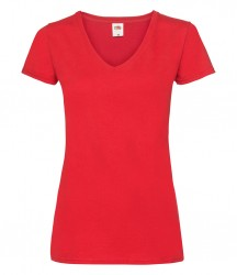Image 7 of Fruit of the Loom Lady Fit Value V Neck T-Shirt
