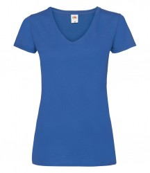 Image 8 of Fruit of the Loom Lady Fit Value V Neck T-Shirt