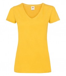 Image 9 of Fruit of the Loom Lady Fit Value V Neck T-Shirt