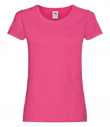 Image 6 of Fruit of the Loom Lady Fit Sofspun® T-Shirt