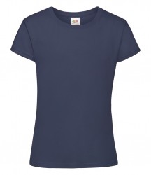 Image 16 of Fruit of the Loom Girls Sofspun® T-Shirt