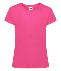 Image 17 of Fruit of the Loom Girls Sofspun® T-Shirt