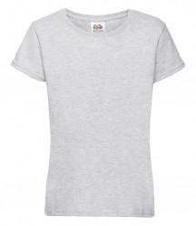 Image 18 of Fruit of the Loom Girls Sofspun® T-Shirt