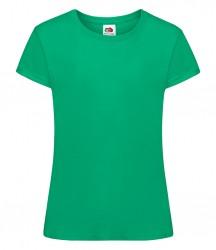 Image 19 of Fruit of the Loom Girls Sofspun® T-Shirt