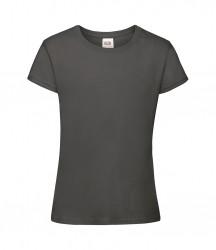 Image 2 of Fruit of the Loom Girls Sofspun® T-Shirt